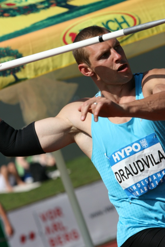 Darius Draudvila at Götzis Hypomeeting 2011