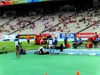 Agustin Felix javelin break