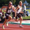 Tomaš Dvorak and Mikk Pahapill on Talence Decastar 2005