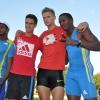 Leonel Suarez, Pascal Behrenbruch, Romain Barras