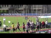 Moritz Cleve pole breaks at 4.60 m