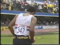 Daley Thompson World Championships 1983 Day 1