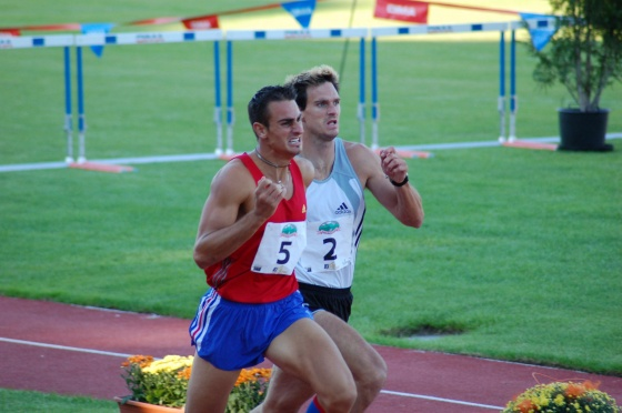 Romain Barras, Attila Zsivoczky on Talence Decastar 2005