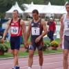 Madis Kallas,Roman Šebrle,Dmitri Karpov at Talence Decastar 2006