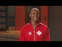 New Canadian record holder: Damian Warner