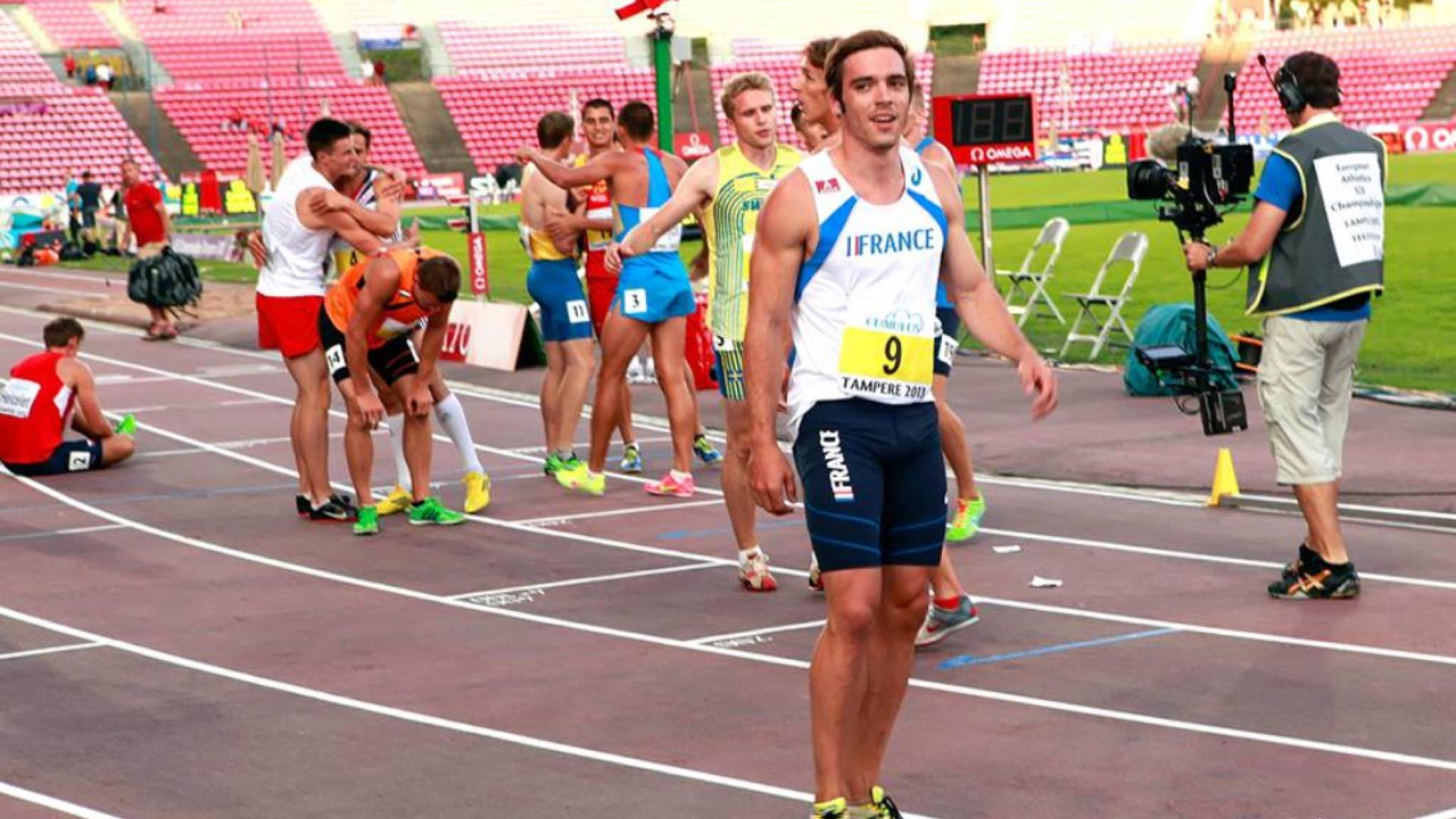 U23 European Championship in Tampere (FIN) in 2013 - after 1500m