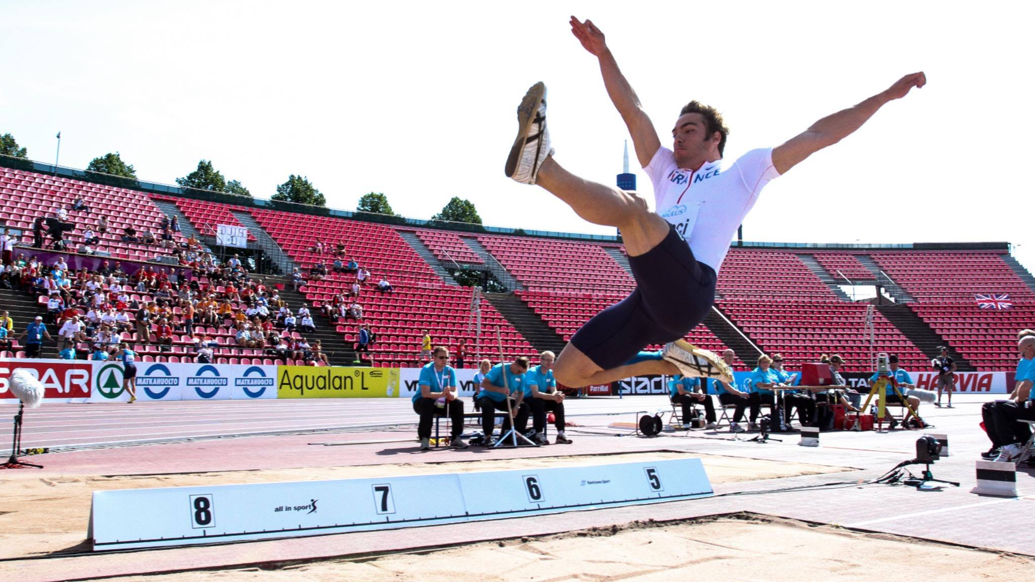 U23 European Championship in Tampere (FIN) in 2013 - Long Jump