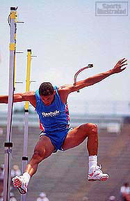 O'Brien's tears dried quickly after his pole vault disaster in New Orleans, but his fears lingered. Photograph by John Biever