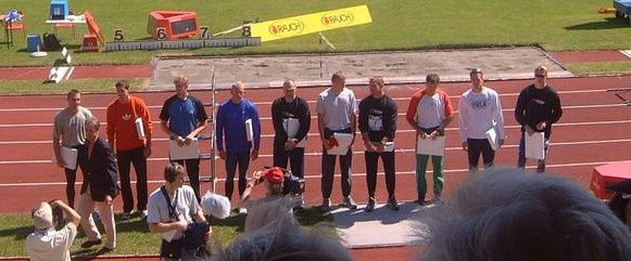 Top Ten Decathletes in Götzis 2002