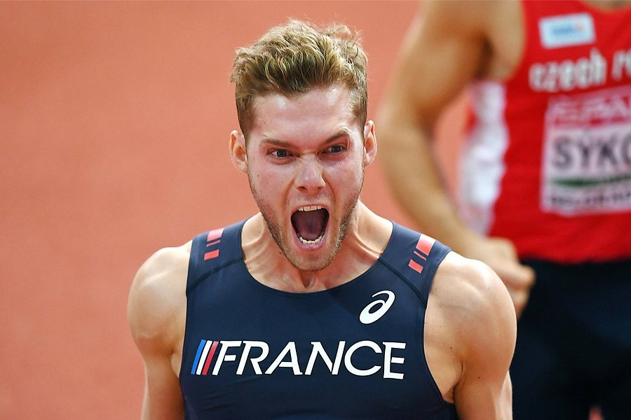 Kevin Mayer Photo: DIMITAR DILKOFF, AFP